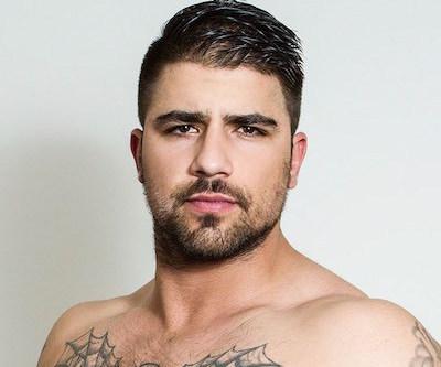 Hansome gay porn star Ryan Bones