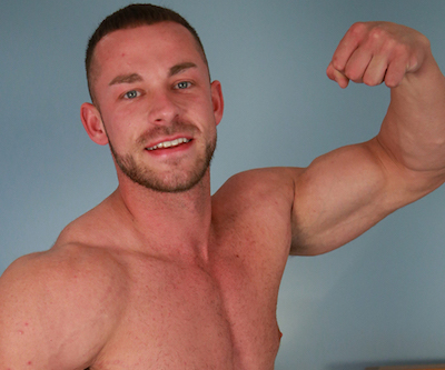 Straight muscle hunk Conall Timpson at Englishlads
