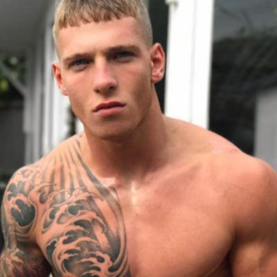 Gay porn star Brandon Myers
